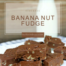 Banana nut fudge