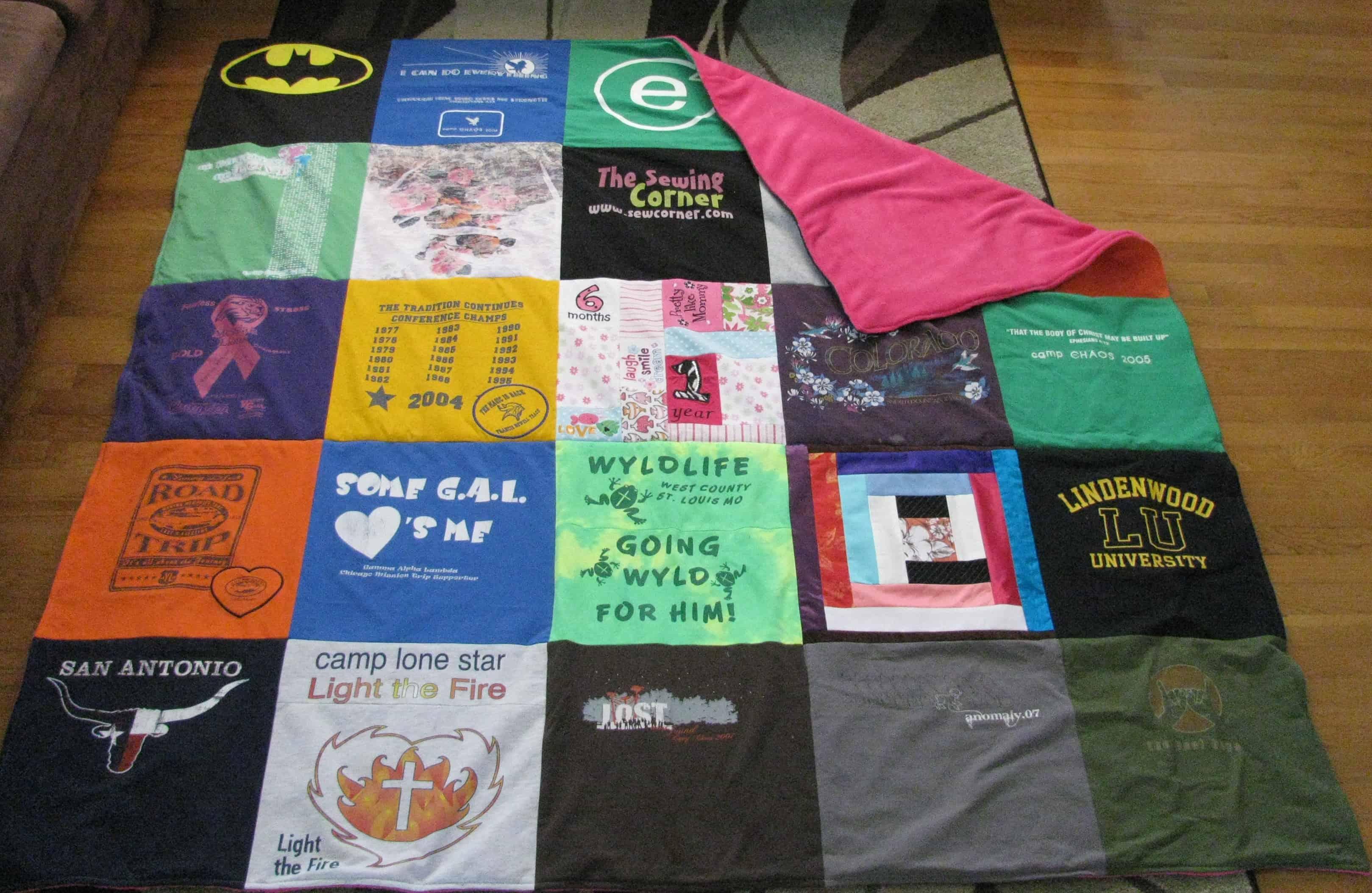 Basic t shirt quilt