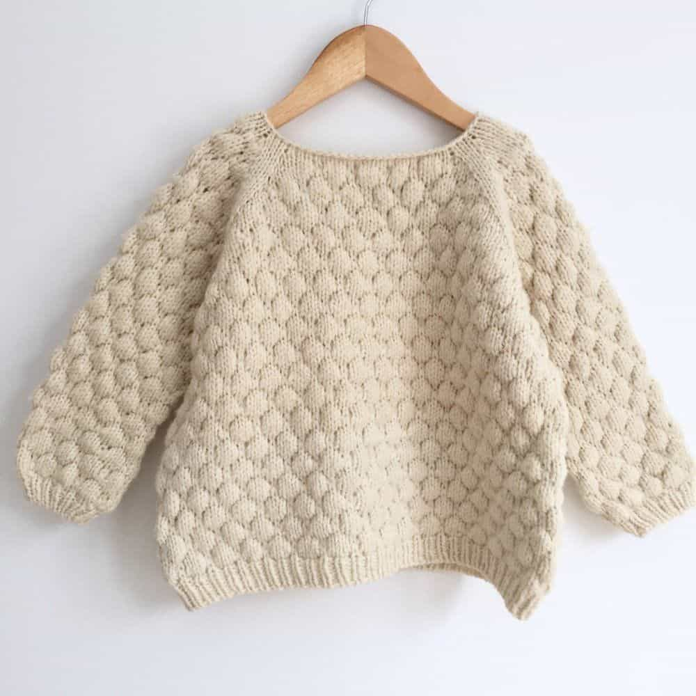 Bubblewrap sweater