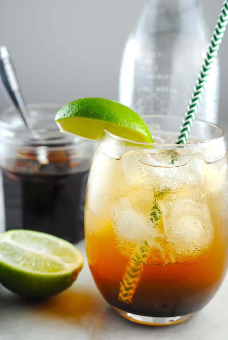 Coconut ginger soda