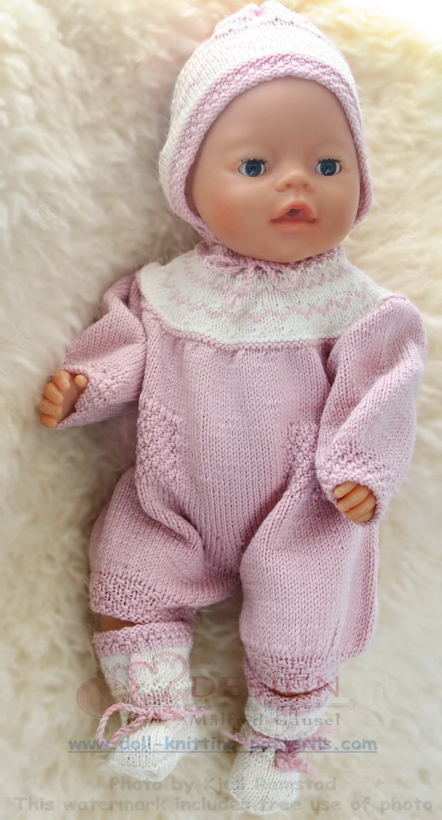 Super cute baby clothes for your doll