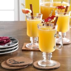 Delightful apple pineapple drink