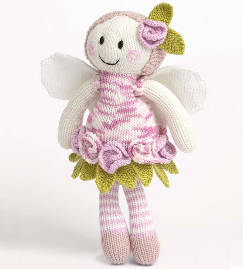 Fairy doll knitting pattern
