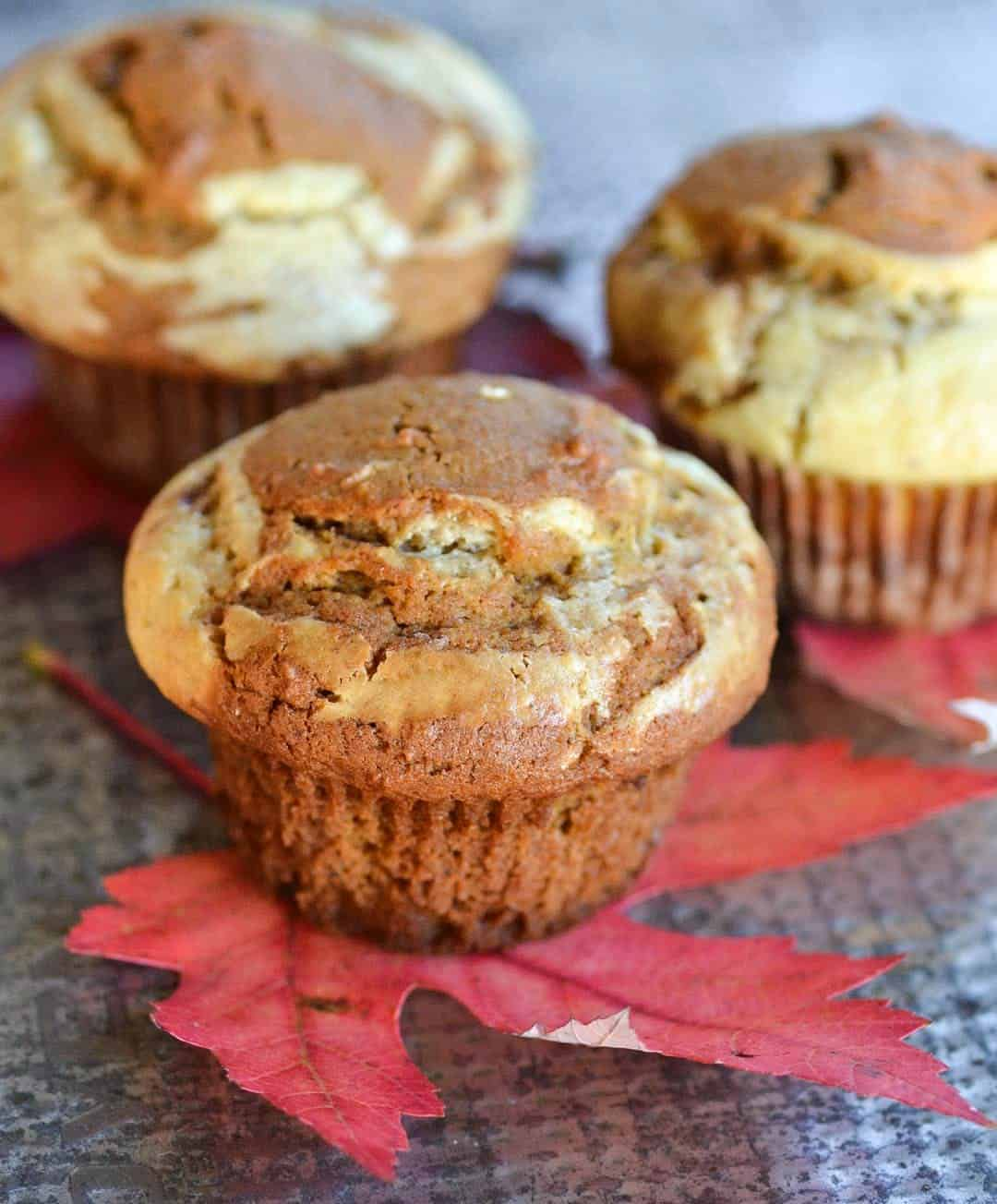 Fragrant pumpkin muffins