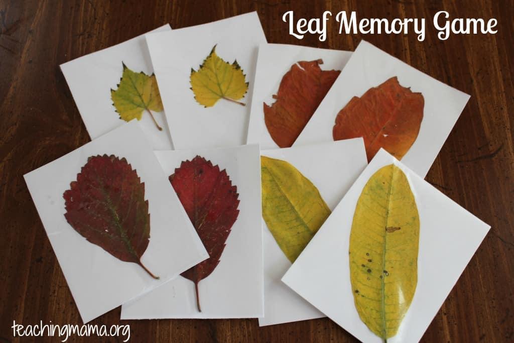 Lead memory game
