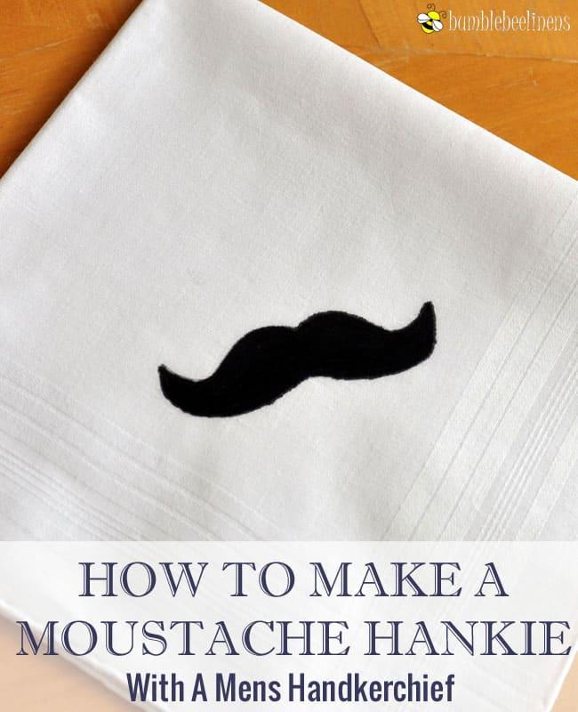 Moustahce hankie