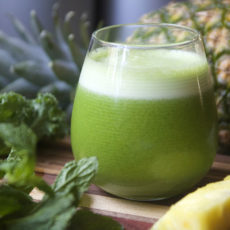 Pineapple green juice