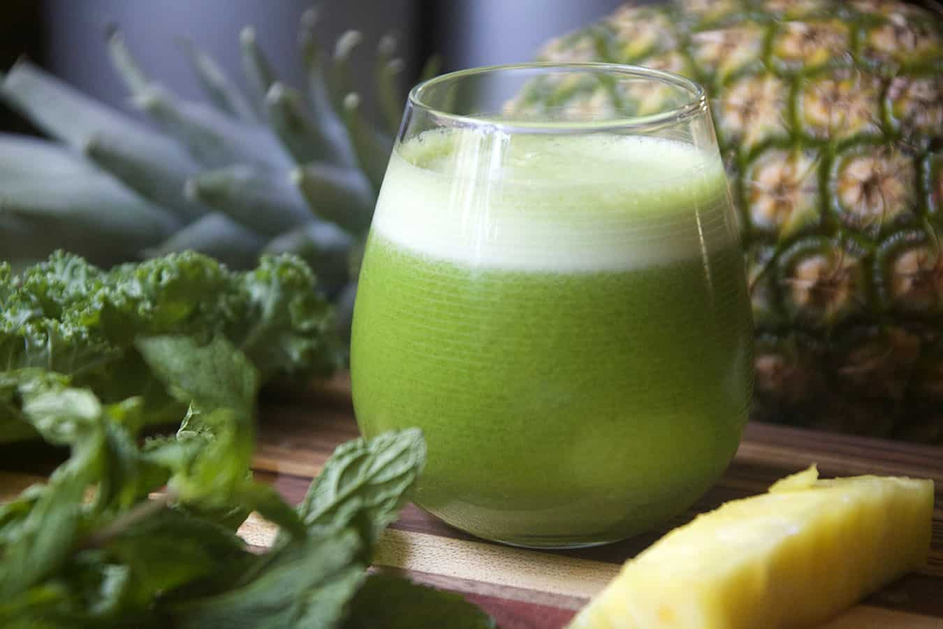 Pineapple green juice