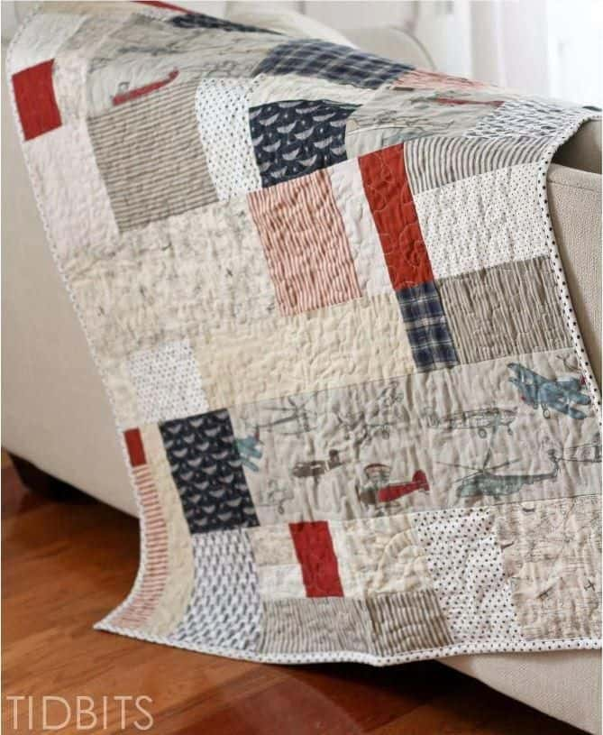 Simple lazy quilt