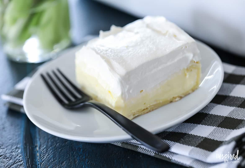 The ultimate cream puff cake
