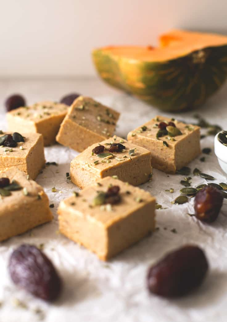 Vegan pumpkin pie fudge recipe
