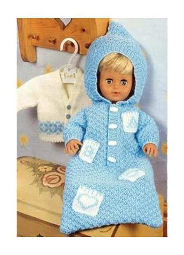 Vintage baby doll sleeper pattern