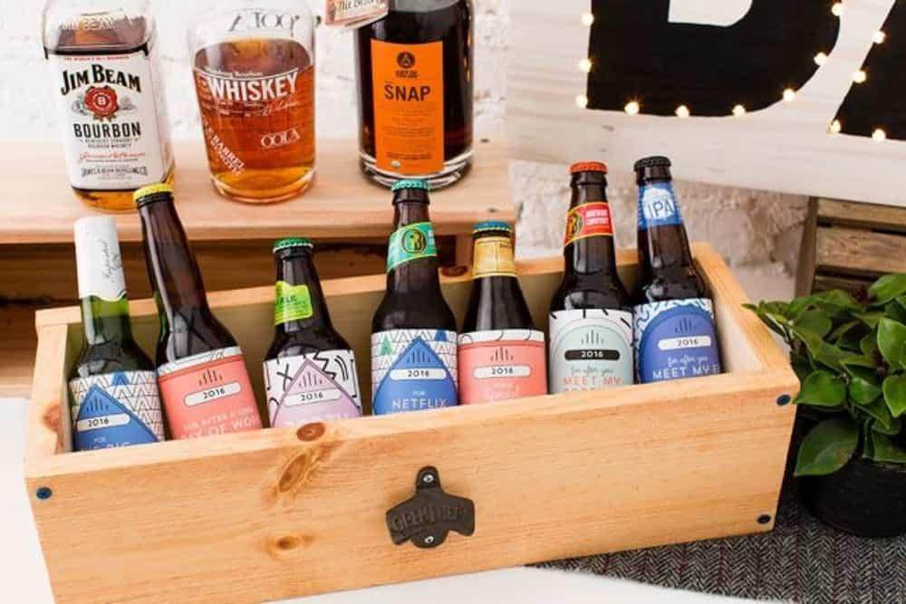Diy beer box