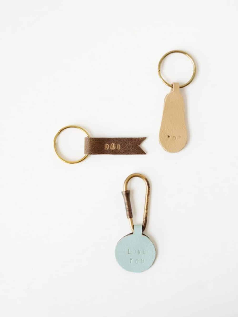 Diy personalized keychains