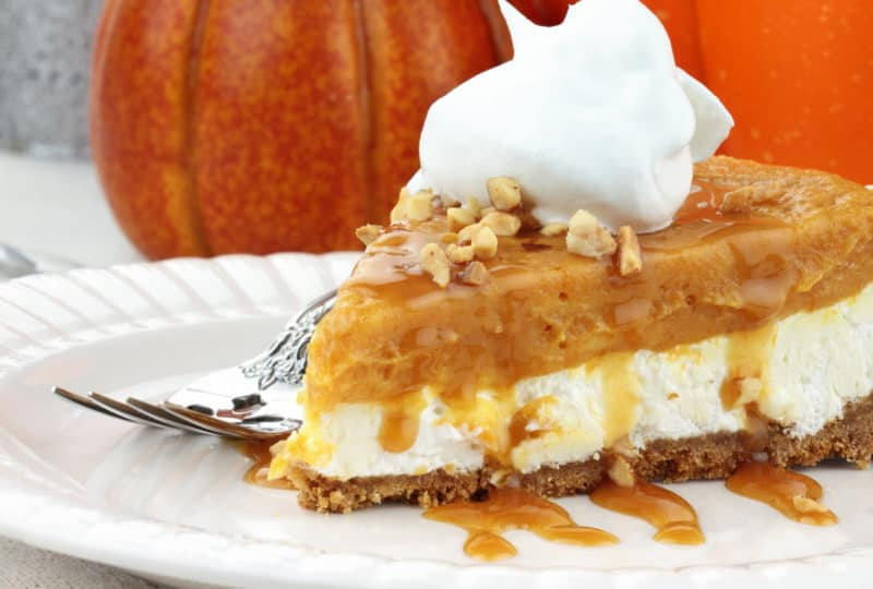 Pumpkin spice no bake pie