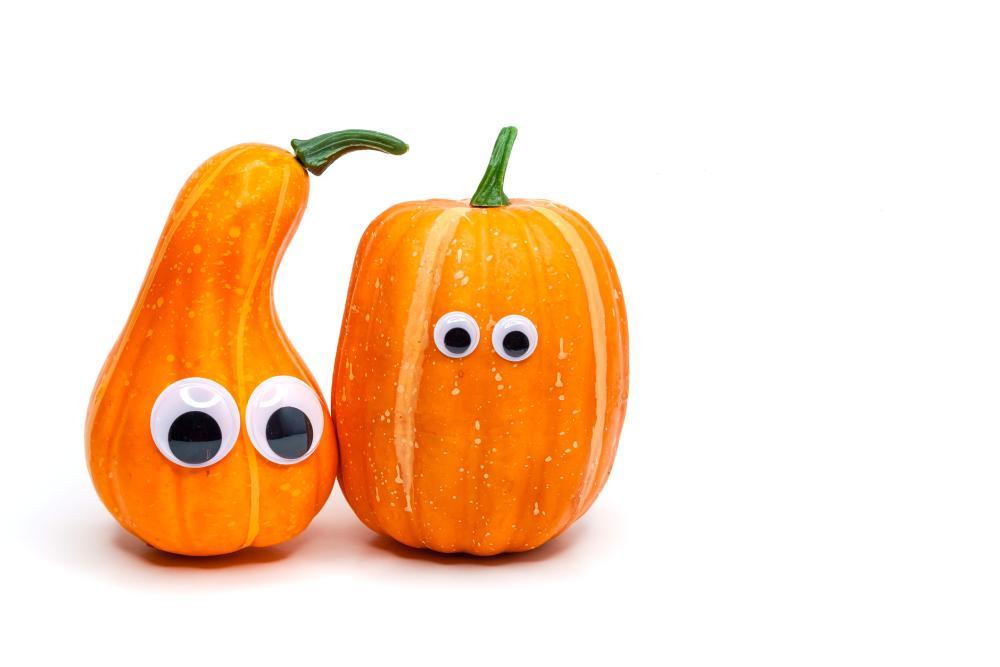 Mini pumpkin decorating ideas googly eyed pumpkins