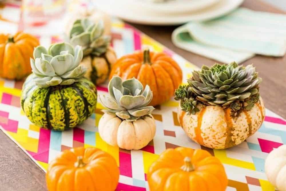 Diy pumpkin vases