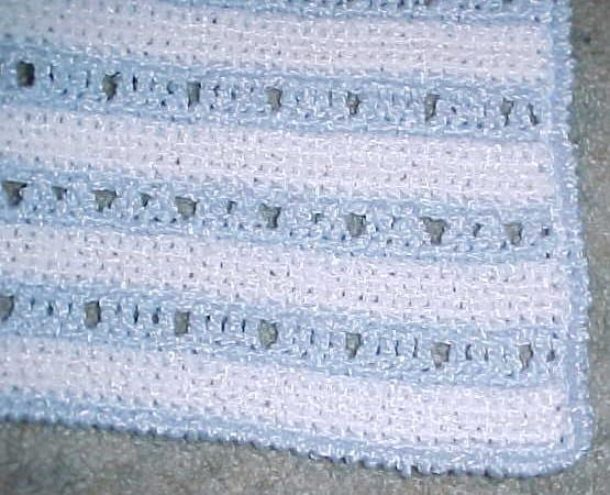 Ashley's baby afghan pattern