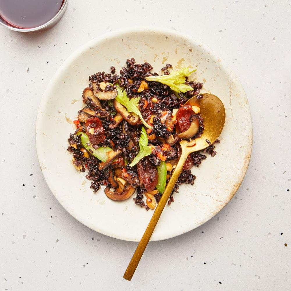 Best thanksgiving stuffing recipe crispy black rice and chinese sausage dressing