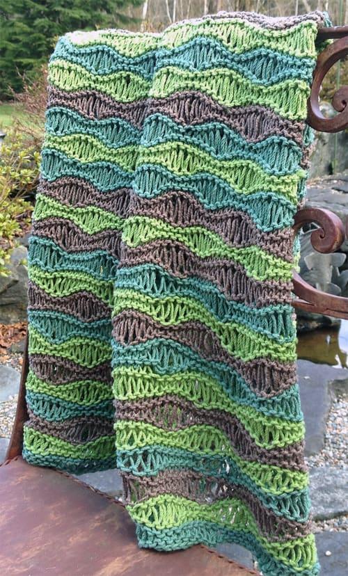 Breezy baby blanket