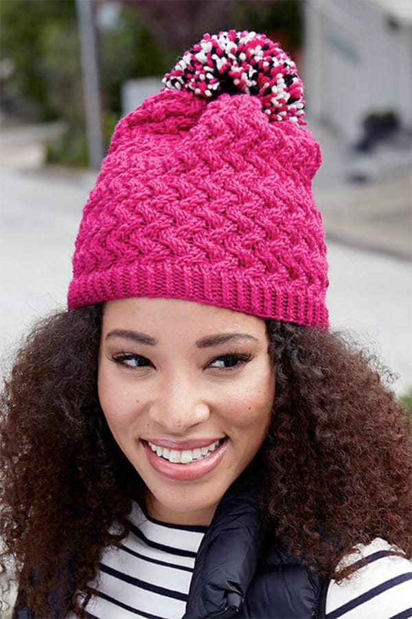 Cable chic hat