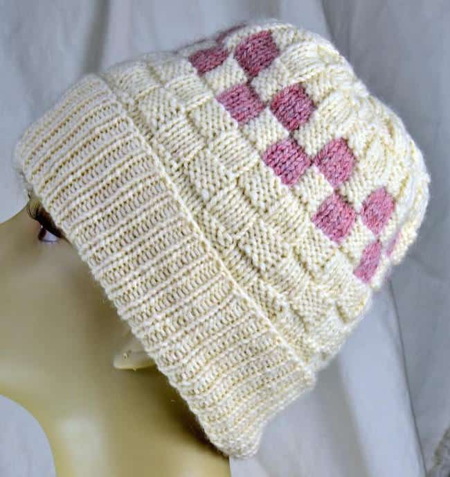 Checkerboard slough hat