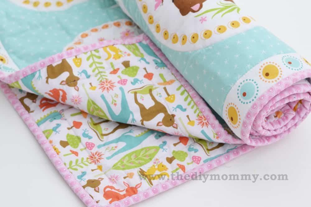 Easy beginner's baby quilt