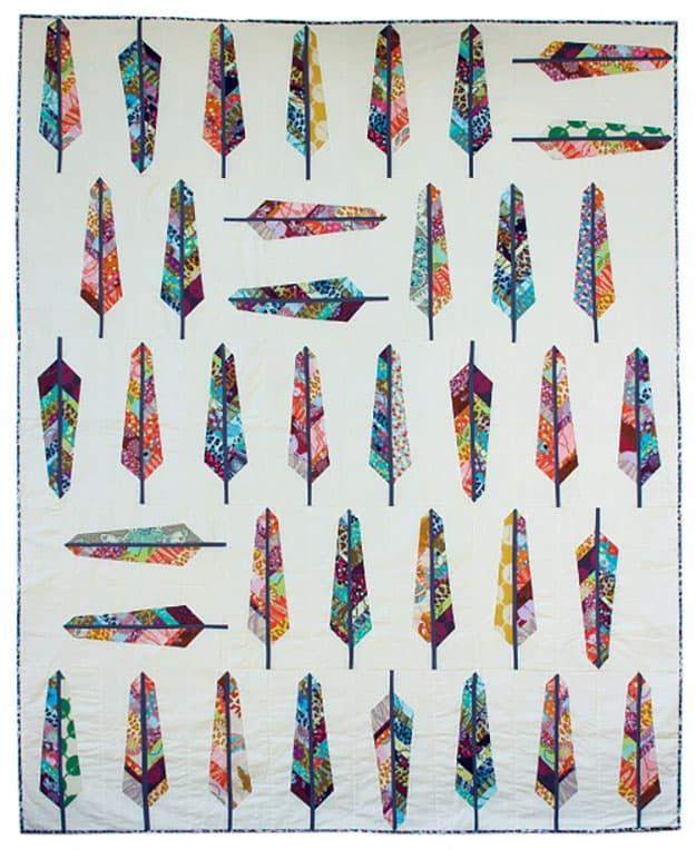 Free quilt pattern feathers