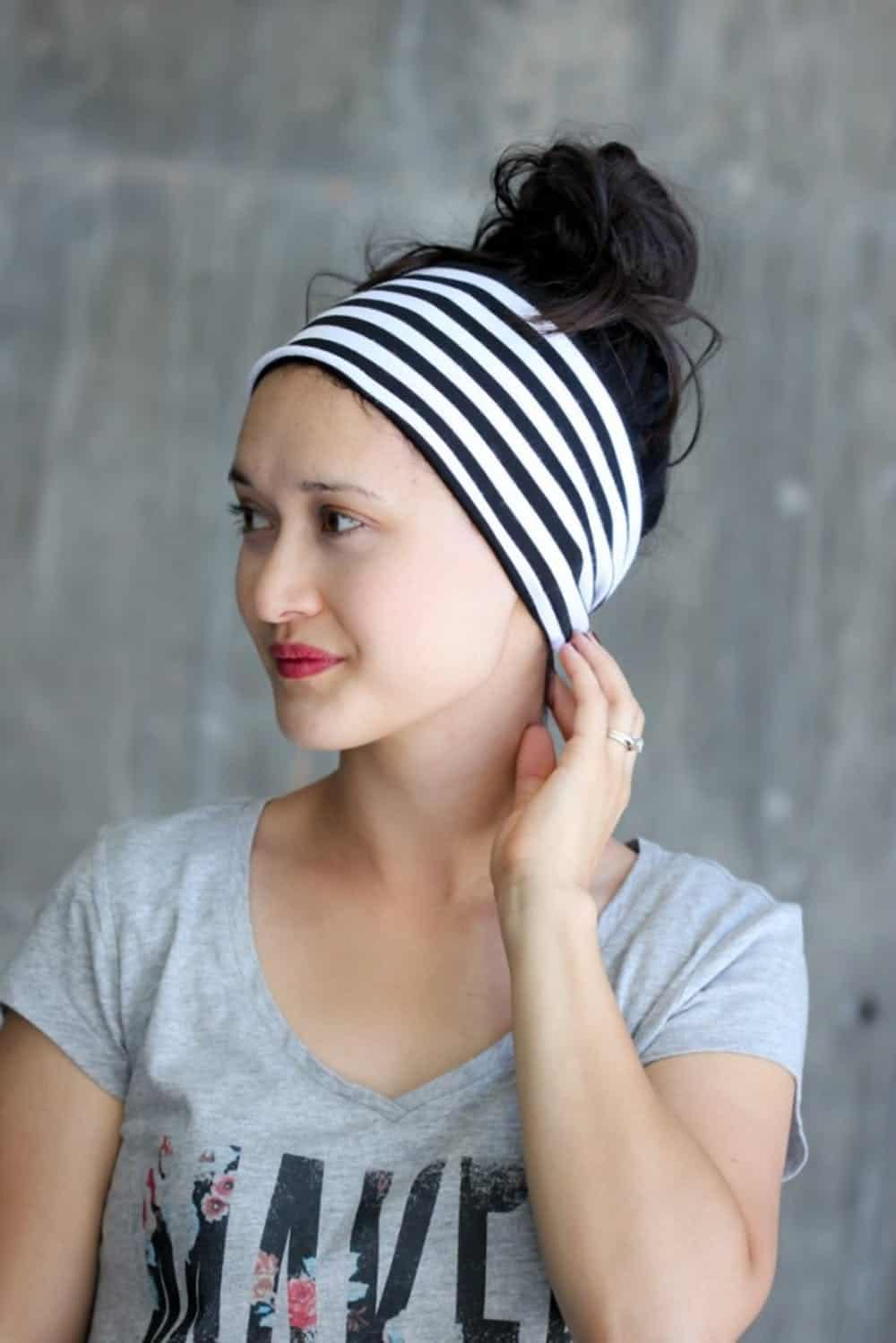 Head wrap bands diy