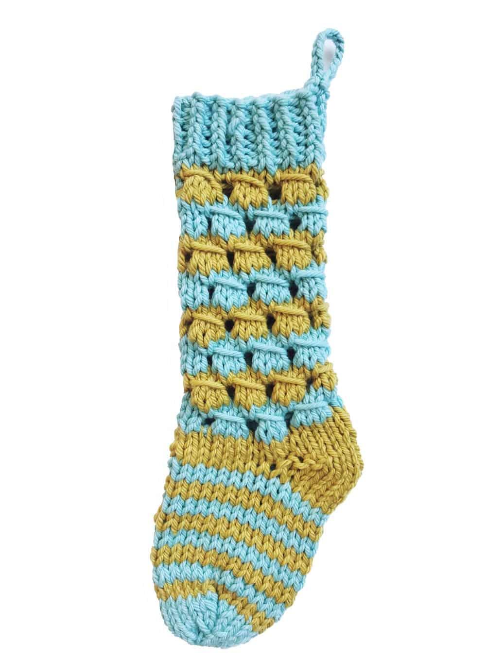 Merry knitmas stocking