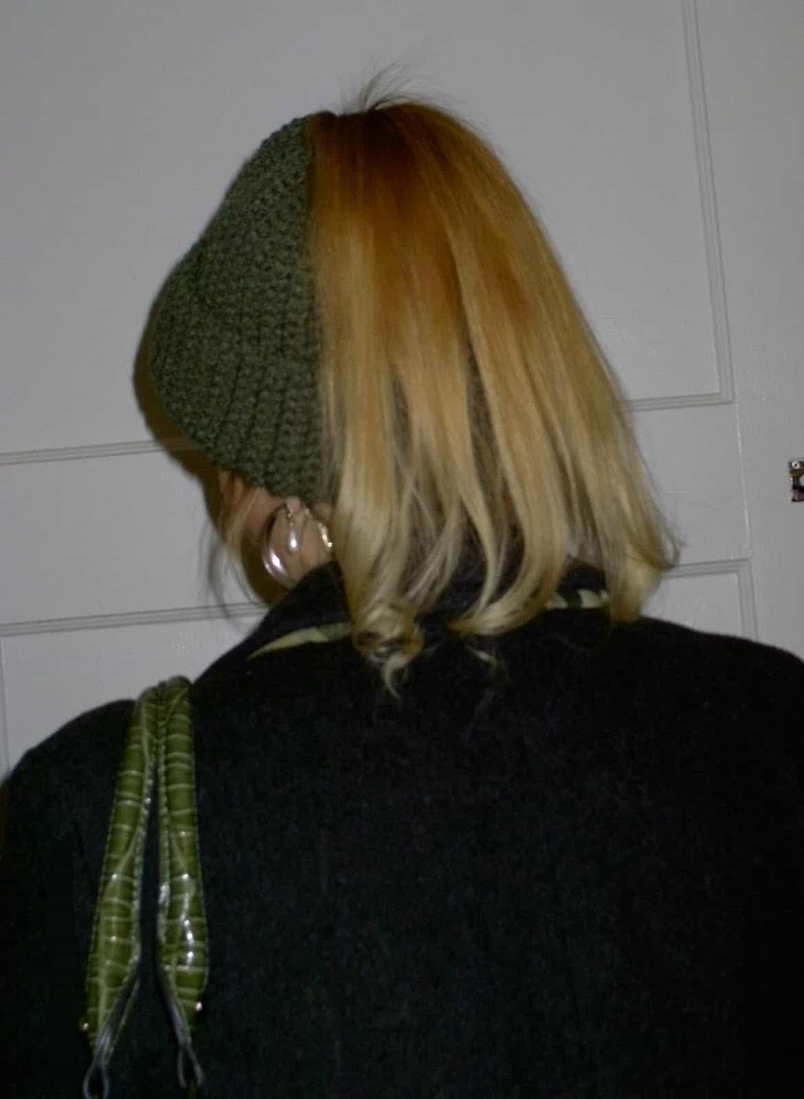 My pretty ponytail hat