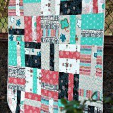Quarter cut baby quilt