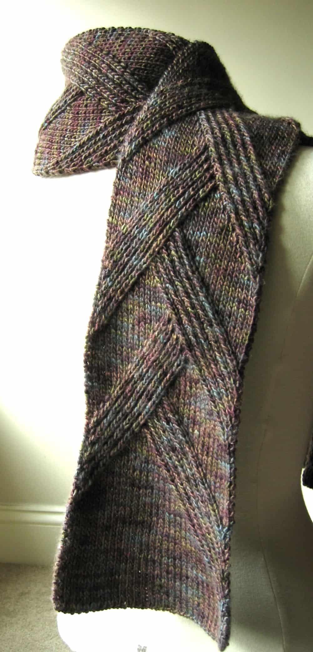 Rippenschal scarf