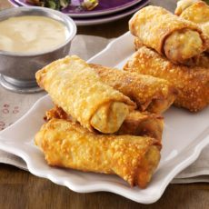Southern style egg rolls