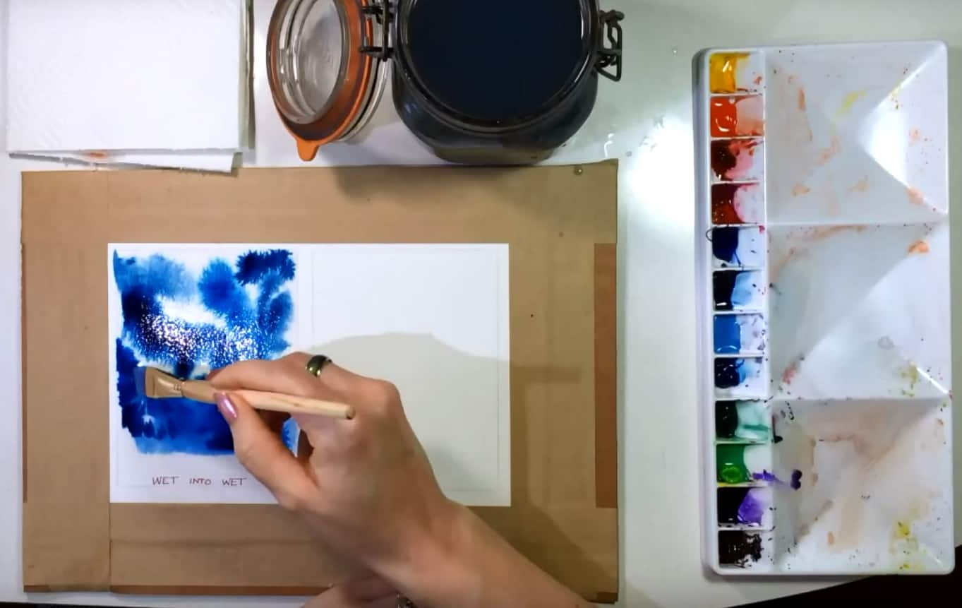 30 Beautiful Watercolour Painting Techniques