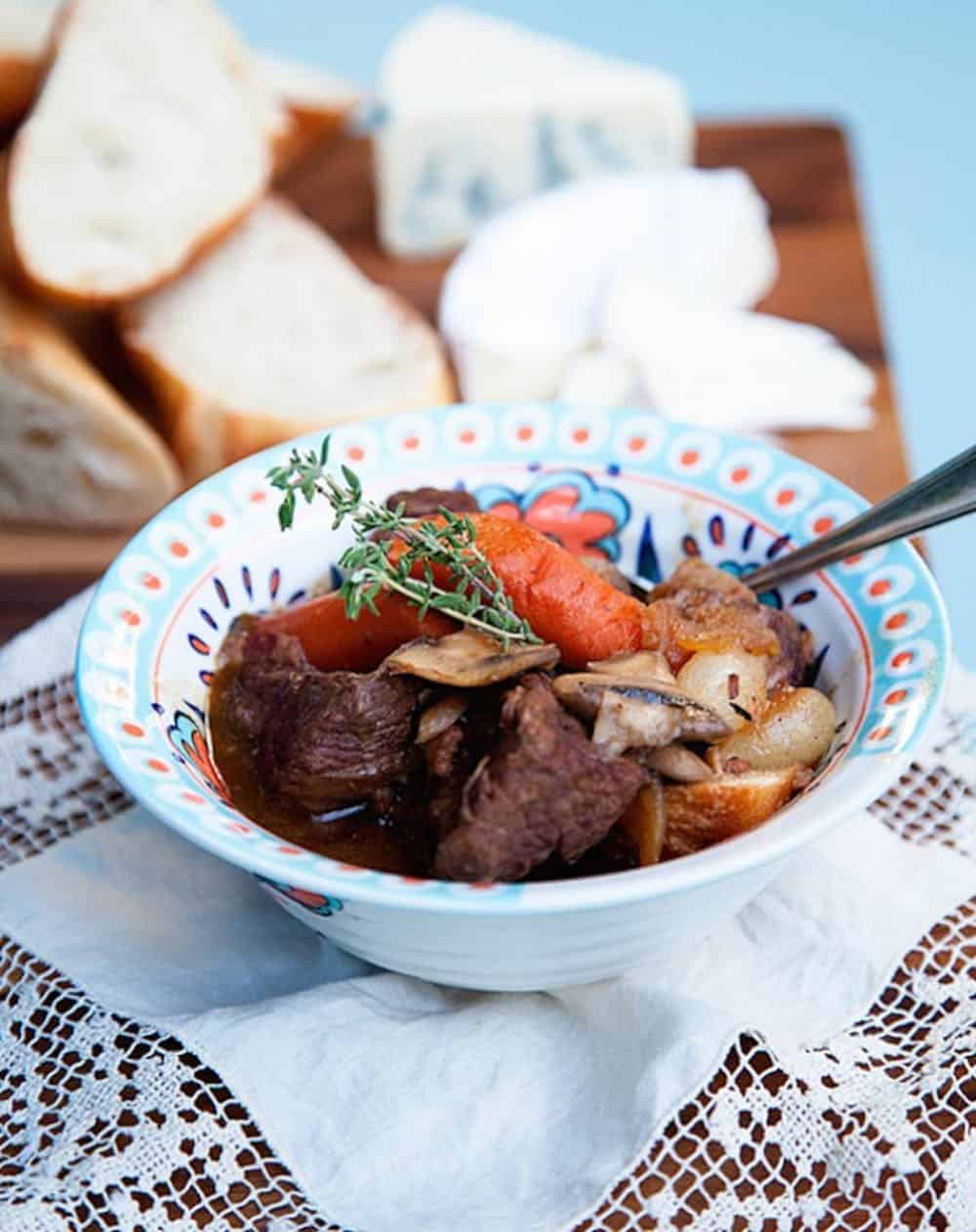 Beef bourguigon