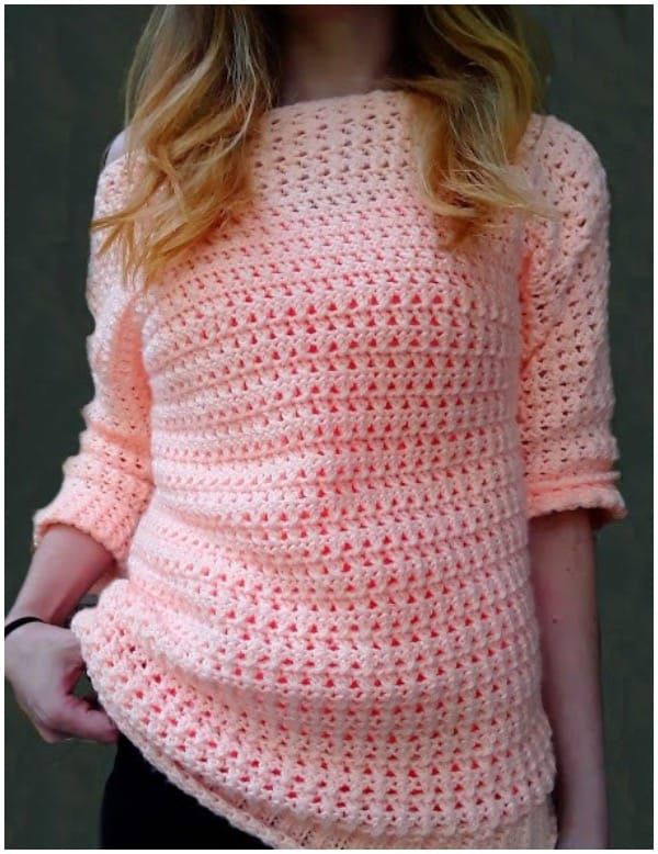 Boardwalk crochet sweater