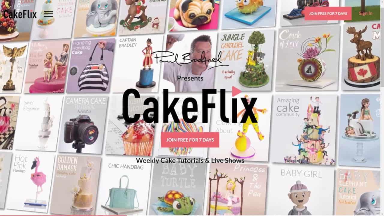 Cake flix free cake lessons