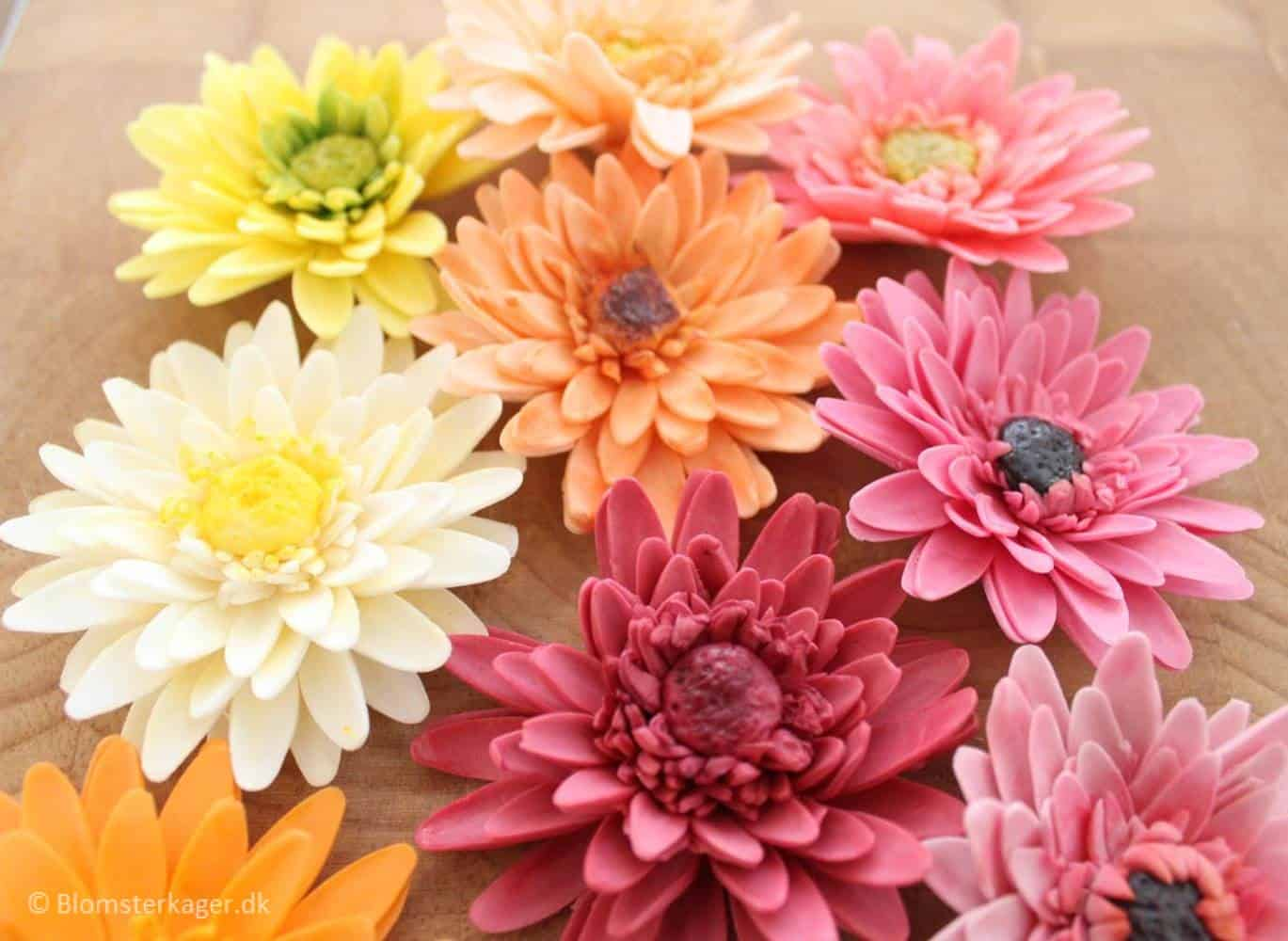 Diy gerbera daisy