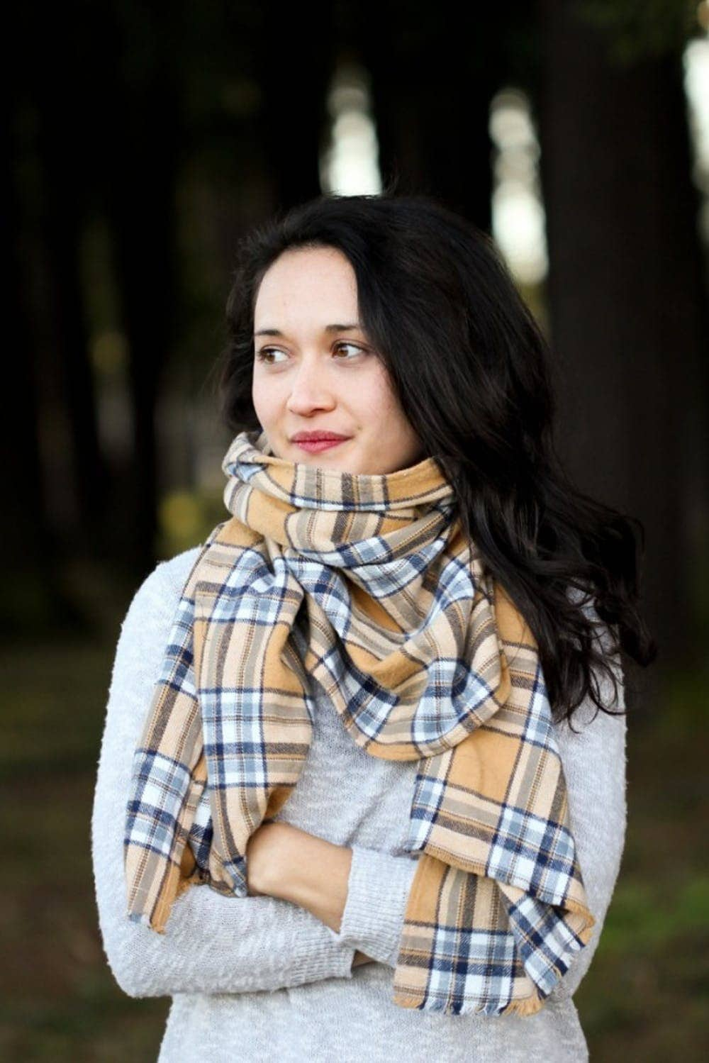 Flannel scarves