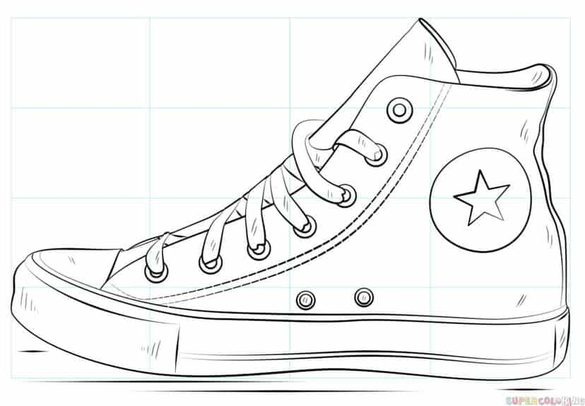 How to draw converses