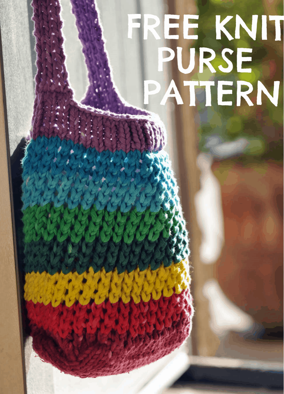 Knit purse pattern