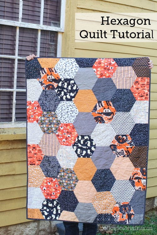 Large hexagon quilt tutorial