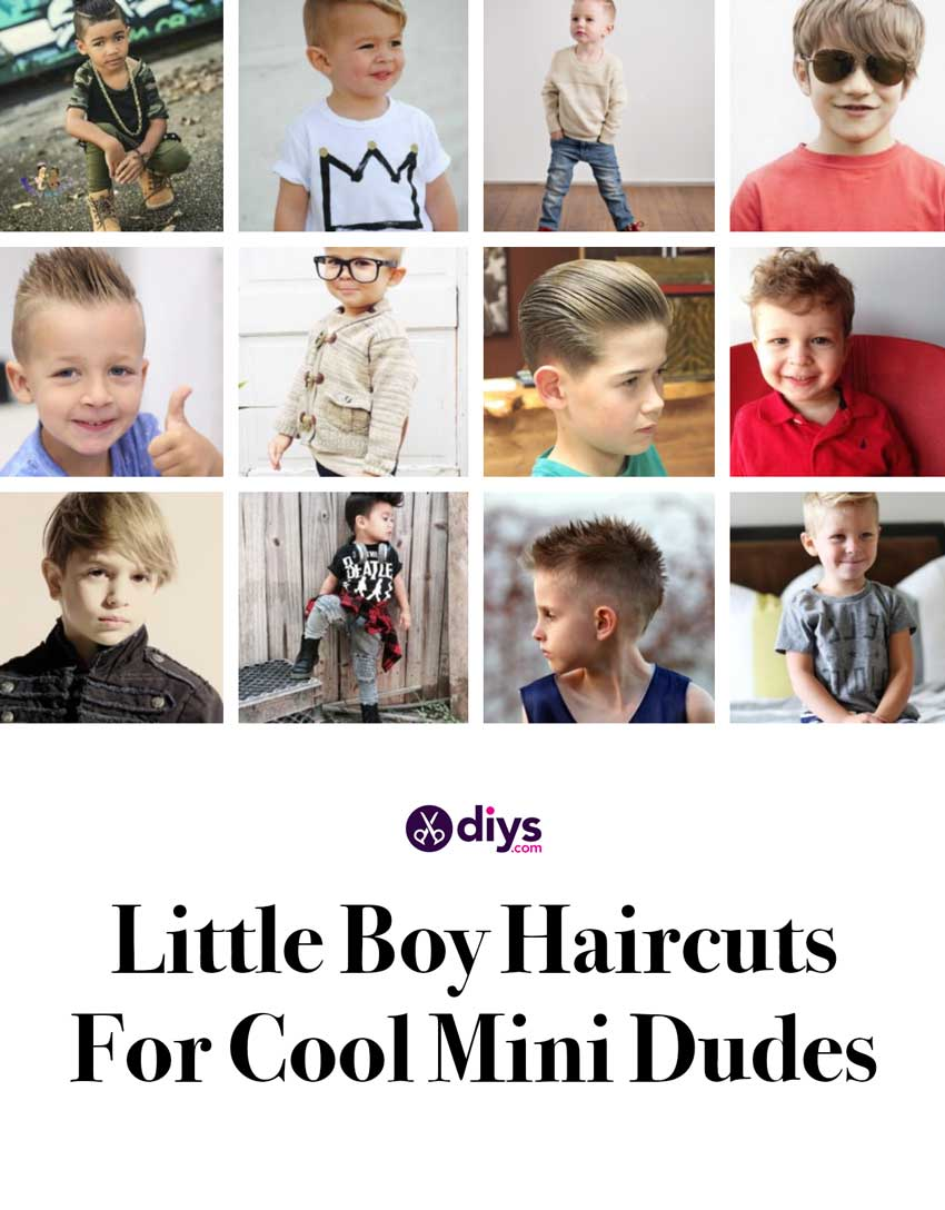Little boy haircuts and hairstyles