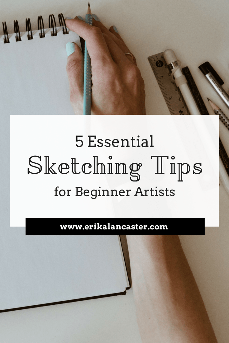 Sketching tips beginners