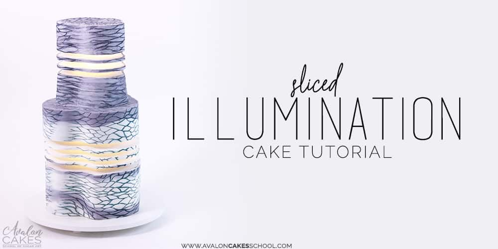 Sliced illumination lantern cake avalon cakes