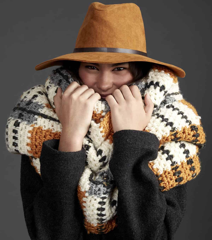 Tartan crochet pattern