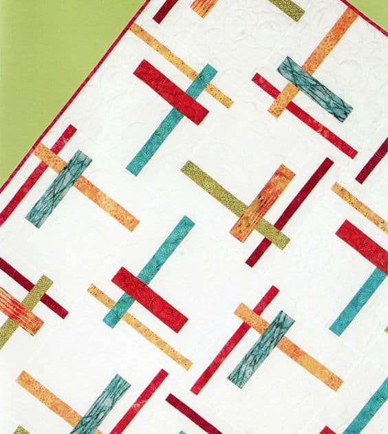 Tortilla strip quilt pattern