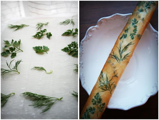 Bouquet breadksticks