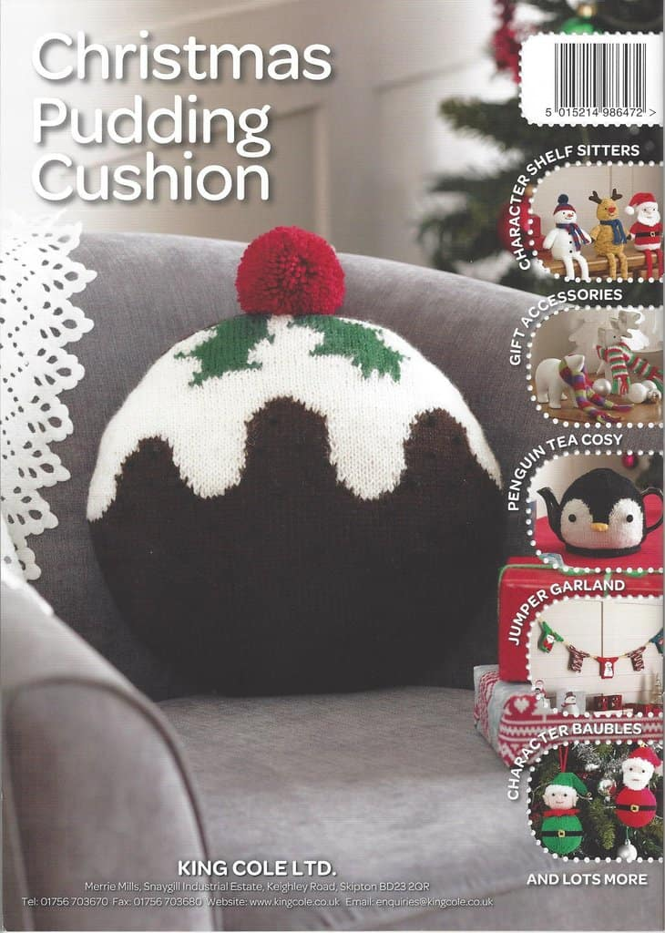 Chrismtas pudding cushion